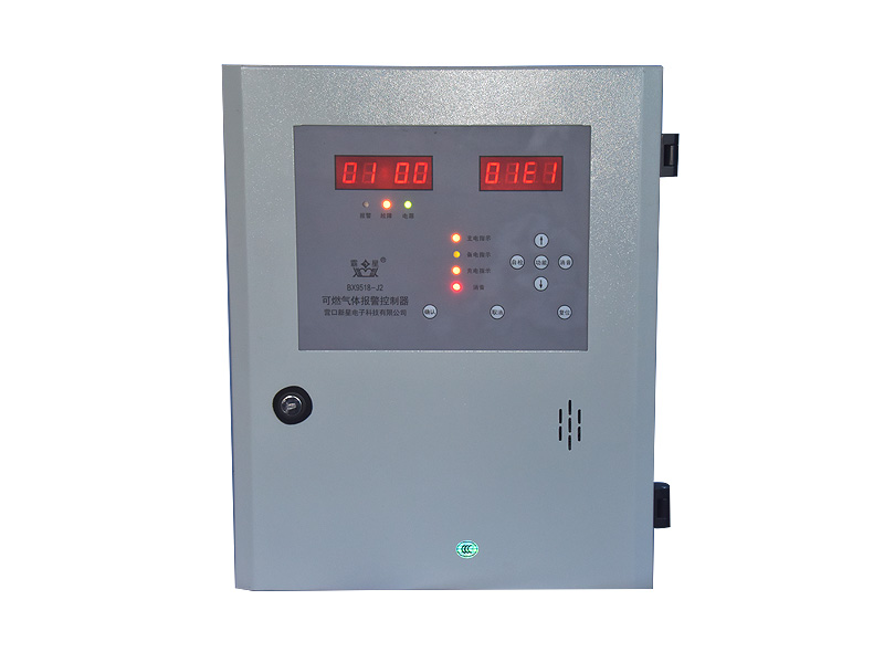 Combustible gas detector for industry