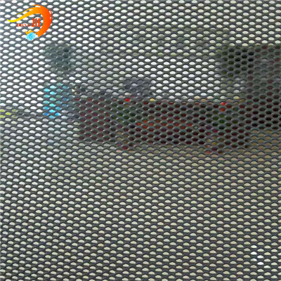 Aluminum DVA Security Limited One Way Vision Screen Mesh,Aluminum Expanded Metal