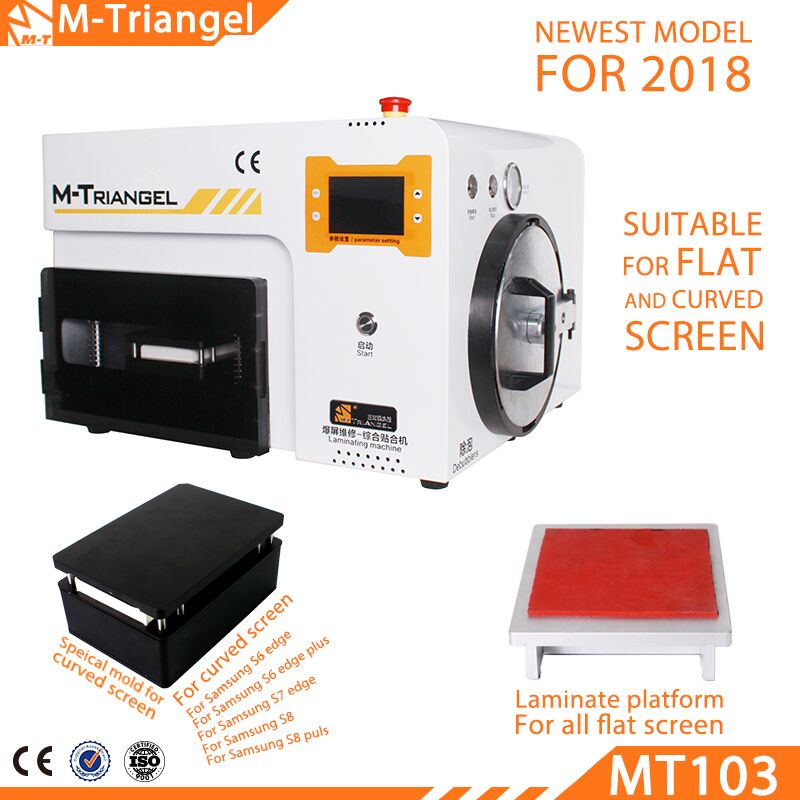 M-Triangel MT-103 Latest Upgrades LCD Repair Machine For Samsung S6 S7 S8 Edge Plus OCA Lamination LCD Touch Screen Glass Repair