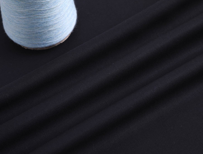 Customized Italian Polyester Viscose TR Suiting Fabric With Selvage