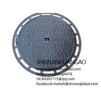 China cast iron manhole cover manufacturer