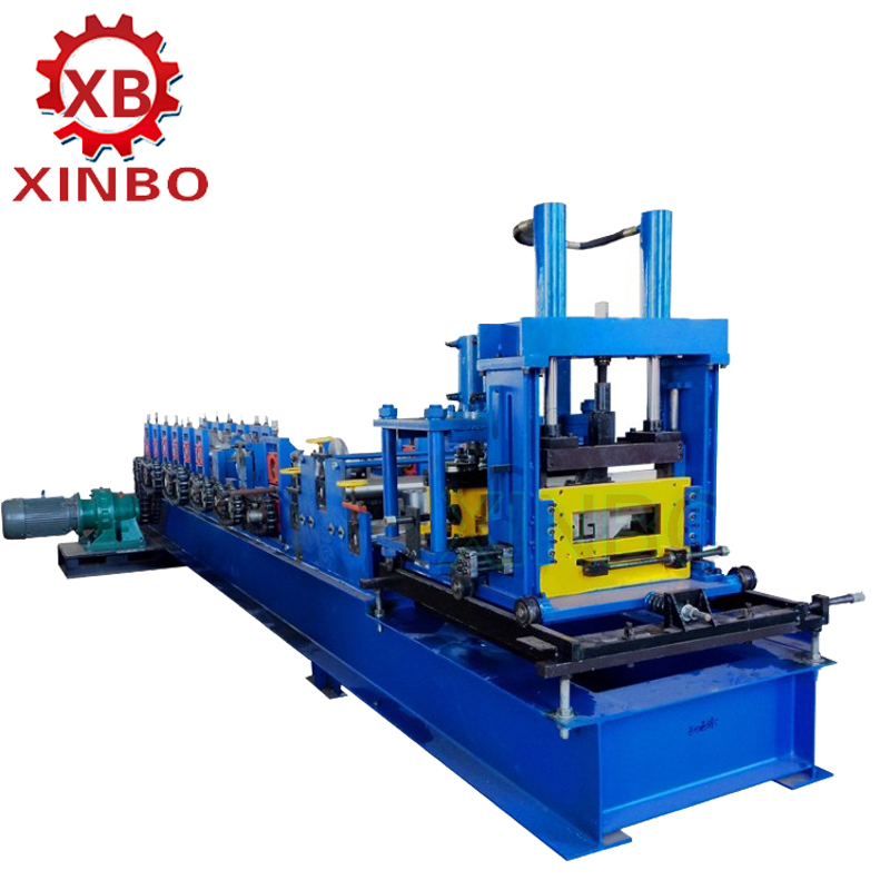 Cheap price small c u z roll forming machine