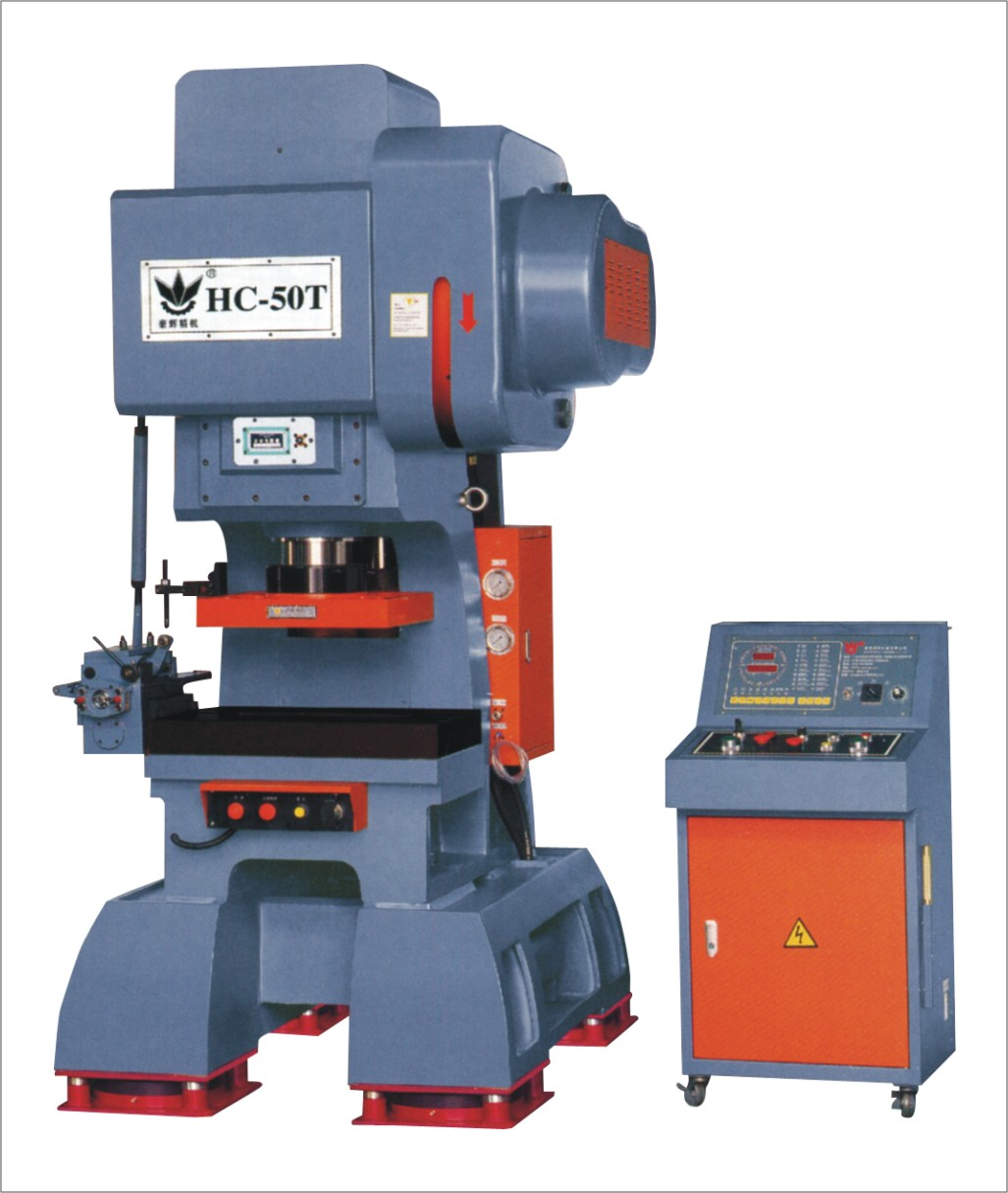 HC-50T 65TONS HIGH SPEED PRESS/ MESH PUNCHING/MOTOR CORE STAMPING/ CONNECTOR PUNCHING