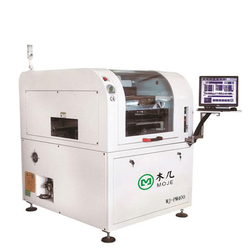MJ-PM 400 Full Automatic Vision Printer for PCBA Board, Auto Stencil Solder Paste Printer