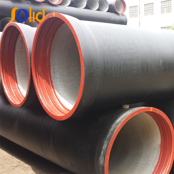 ISO2531 DN300 Class K9 Ductile Cast Iron Pipe