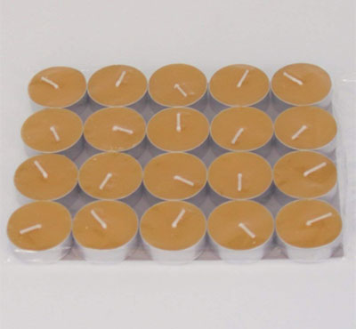 Pure Beeswax Tea Lights Candles
