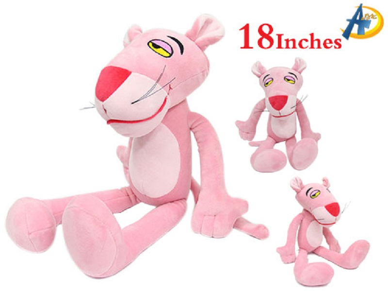 Pink Panther anime plush doll,wholesale anime plush dolls,wholesale anime figure doll,anime plush dolls