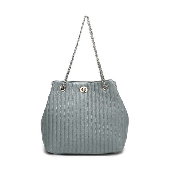 new style leather tote handbags with striped design