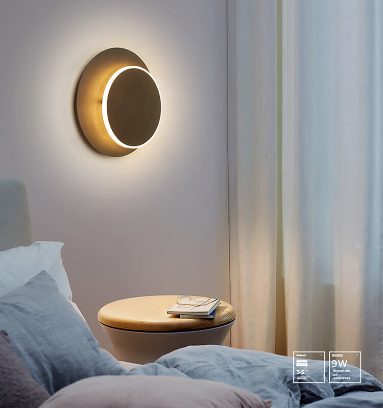 Modern minimalist personality sconces modern led wall light
