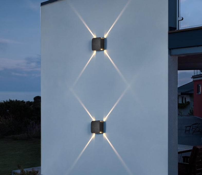 Hotel Restaurant Fixtures Modern Led wall light outdoor Lamp