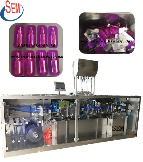 plastic ampoule garlic sauce packing machine,monodose machine bottle plastic tube filling and sealing machine,automatic plastic ampoule ffs cream tube filling machine