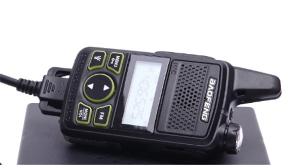 Baofeng BF-T2 Walkie Talkie 0.5 Watt FRS PMR 446 Mini Kids Toy Radio