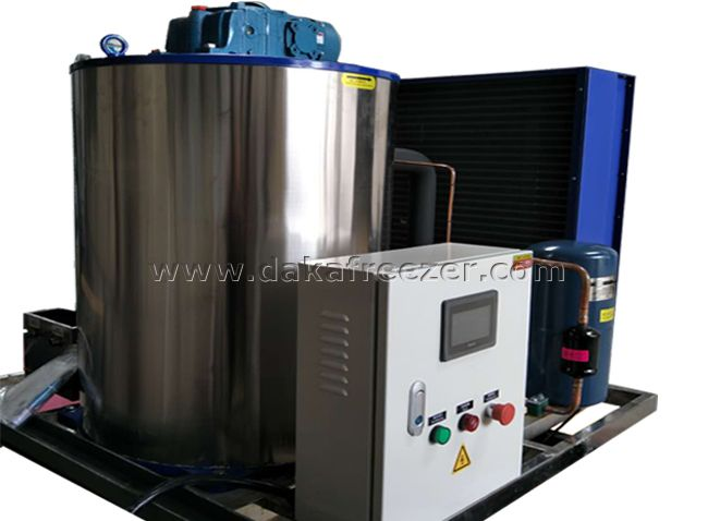 Flake Ice Machine 8T Per Day,aquatic processing Flake Ice Machine Supplier,aquatic processing Flake Ice Machine Factory