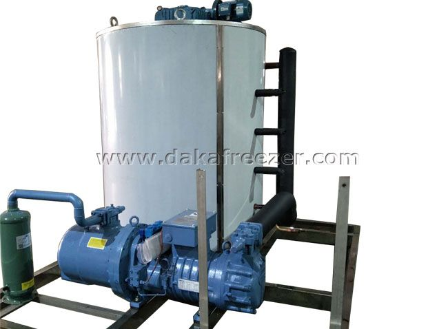 Flake Ice Machine 25T Per Day,aquatic processing Flake Ice Machine Supplier,chemical pigments Flake Ice Machine Supplier