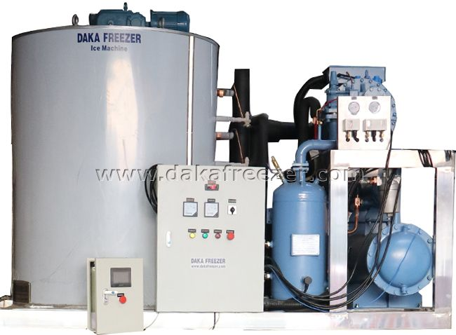 Flake Ice Machine 50T Per Day,random control Flake Ice Machine Manufacturer,integral type,Flake Ice Machine