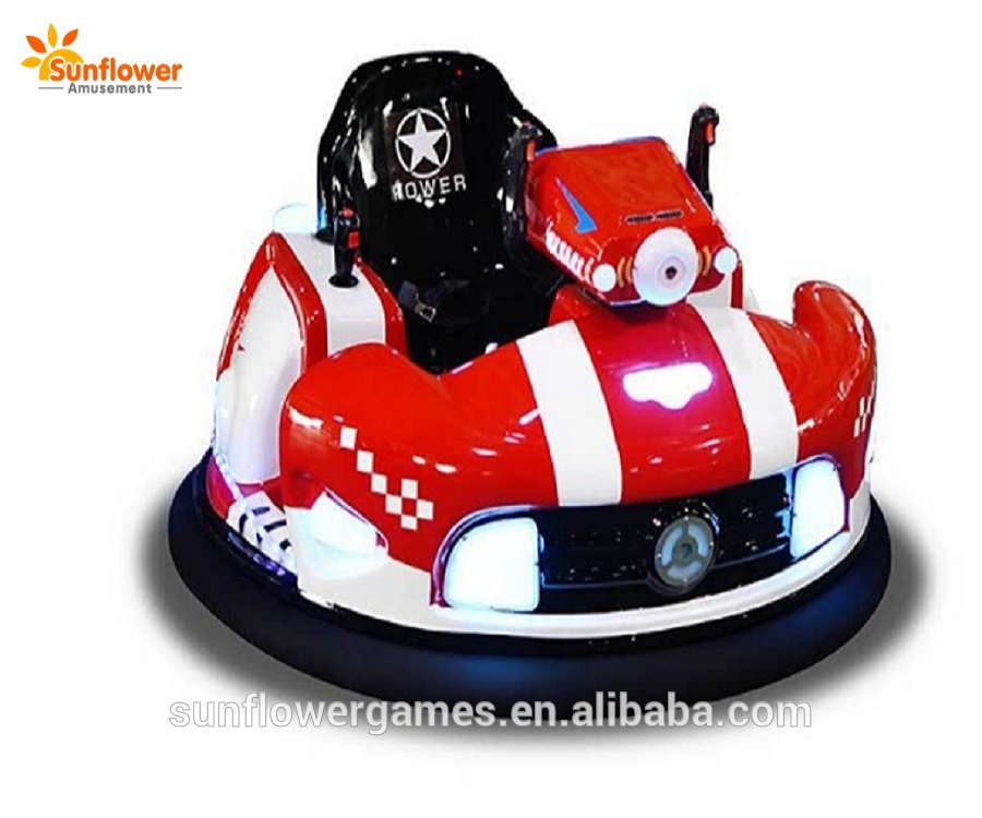 Supply amusement park rides UFO Laser shooting bumper car china factory