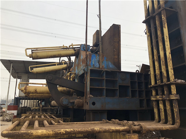 YDJ-6300 hydraulic scrap baler shear for stainless steel machine
