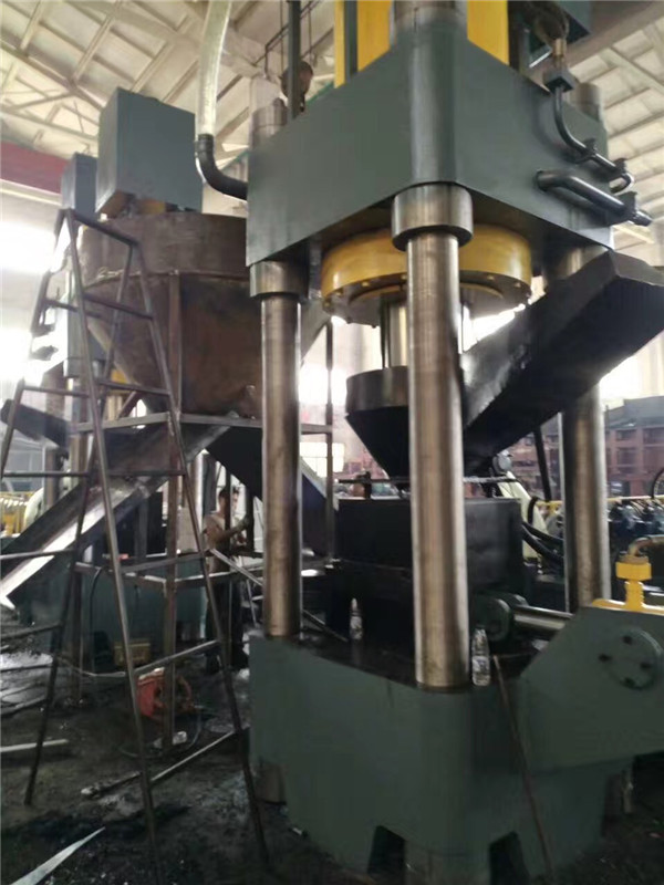 Y83-3150 Hydraulic Scrap Metal Briquetting Press machine