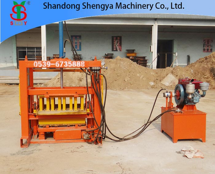QT4-40 New Model! Hydraulic Gypsum Block Making Machine