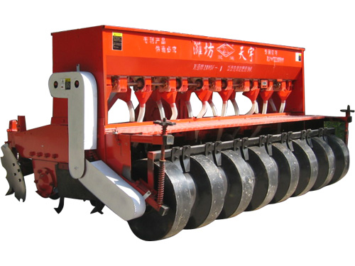 2BMSF no-tillage fertilization seeder