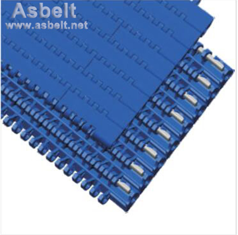 Ast1101 Flat Top Belt,Side Flexing Belt ,Side Flexing in Snack Industry,Flat Top Belt Side Flexing Belt ,plastic modular belt