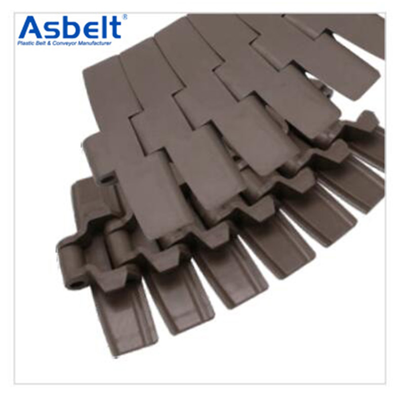 Ast882TAB Plastic Flat Top Belt,Plastic Flat Top Belt ,Plastic Flat Top Belt Rubber Top,Flat Top Conveyor Belt Manufacturer
