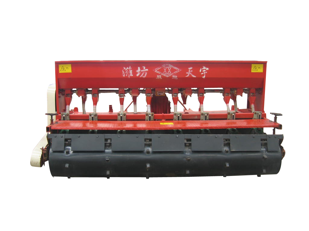 Rotary tillage fertilization seeder