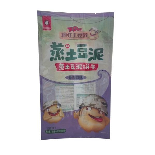 Exquisite Quality Customized Laminated Snacks Bag