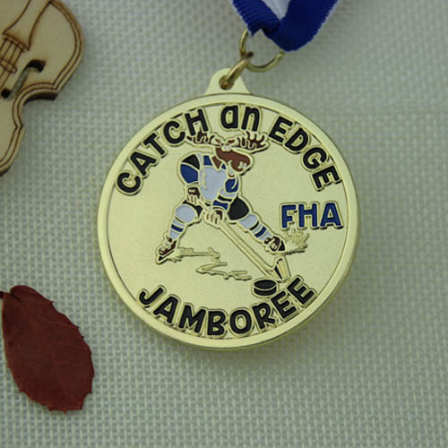 Hockey Games Custom Gold Medals