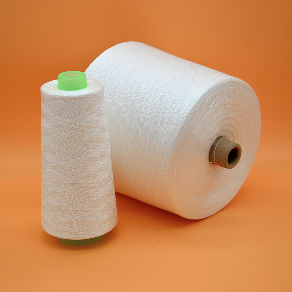 polyester staple fiber yarn for sewing thread 40/2/3