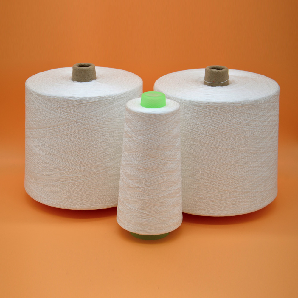 high strength 40s/2 100% spun polyester yarn paper cone yarn