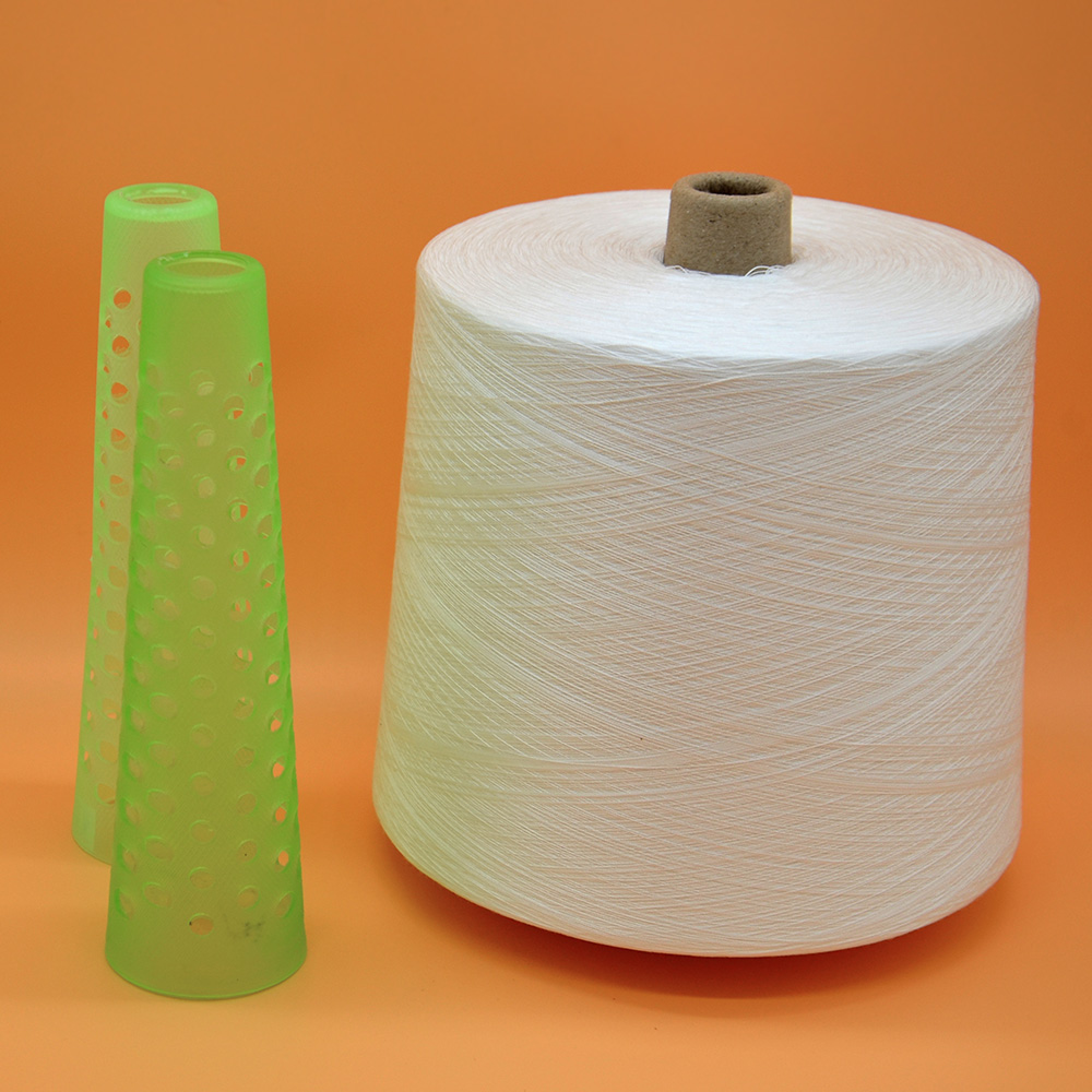 Factory Direct Supply Ring Spun Hot Sell Paper Bobbin Polyester Yarn 50/2 Spun