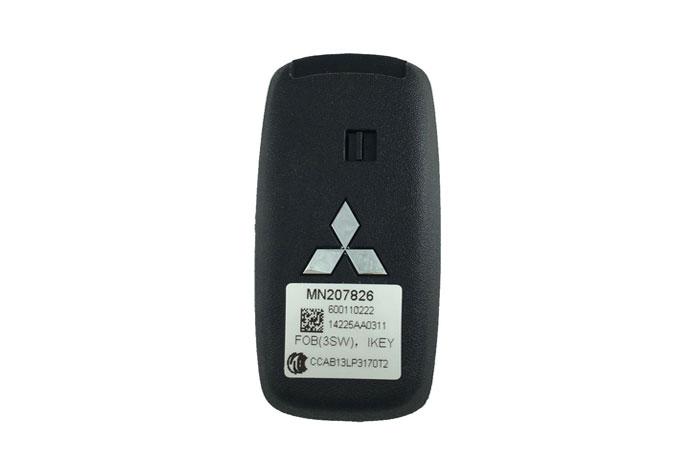 Mitsubishi 3 button remote smart key 433Mhz