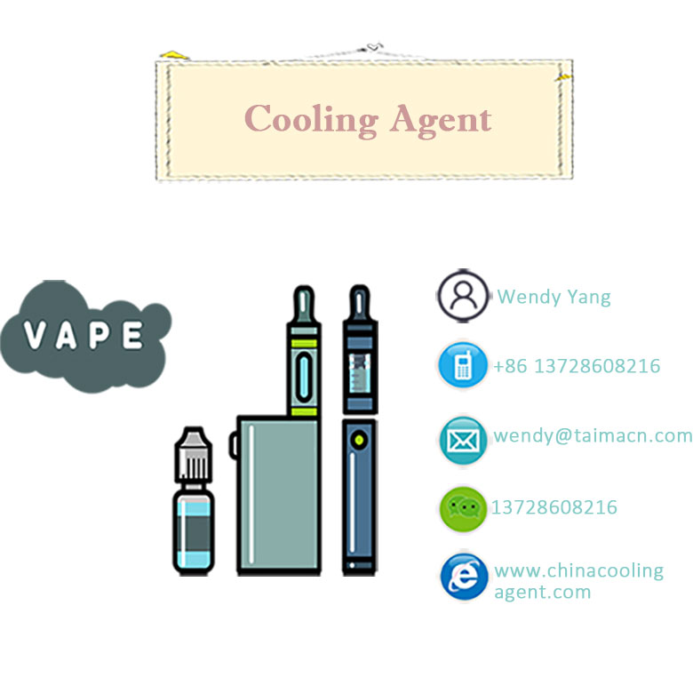 Food Grade Cooling Agent WS-12 For Vape