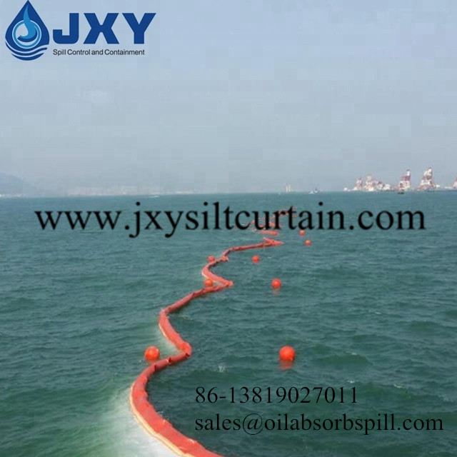 Type 3 DOT Heavy Duty Silt Curtain For Tidal Water