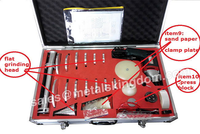 M-100A Plane Globe Valve Grinding Machine , Portable Valve Grinding and Lapping Machine For Globe/Safty Valve , Portable Valve Grinding and Lapping Machine