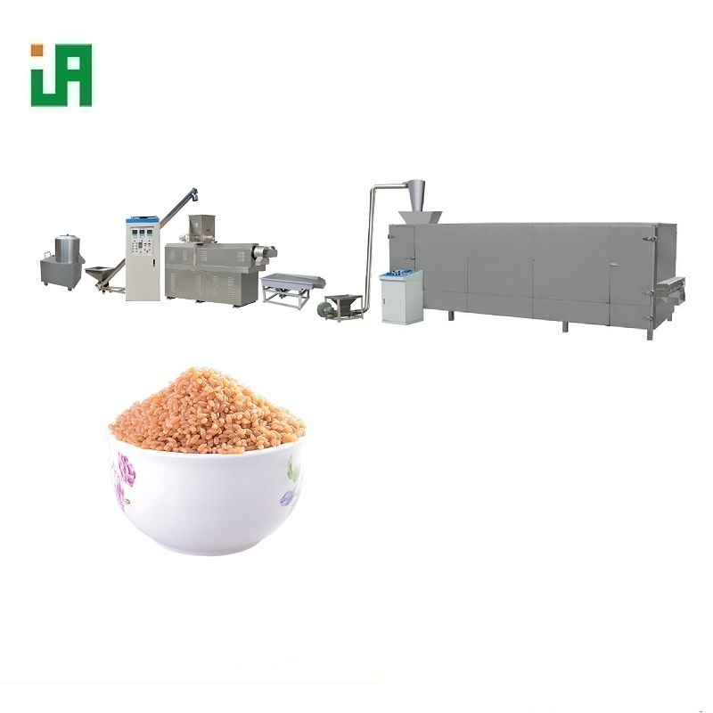 Automatic Double Shafts Artificial Rice Plant Making Machine