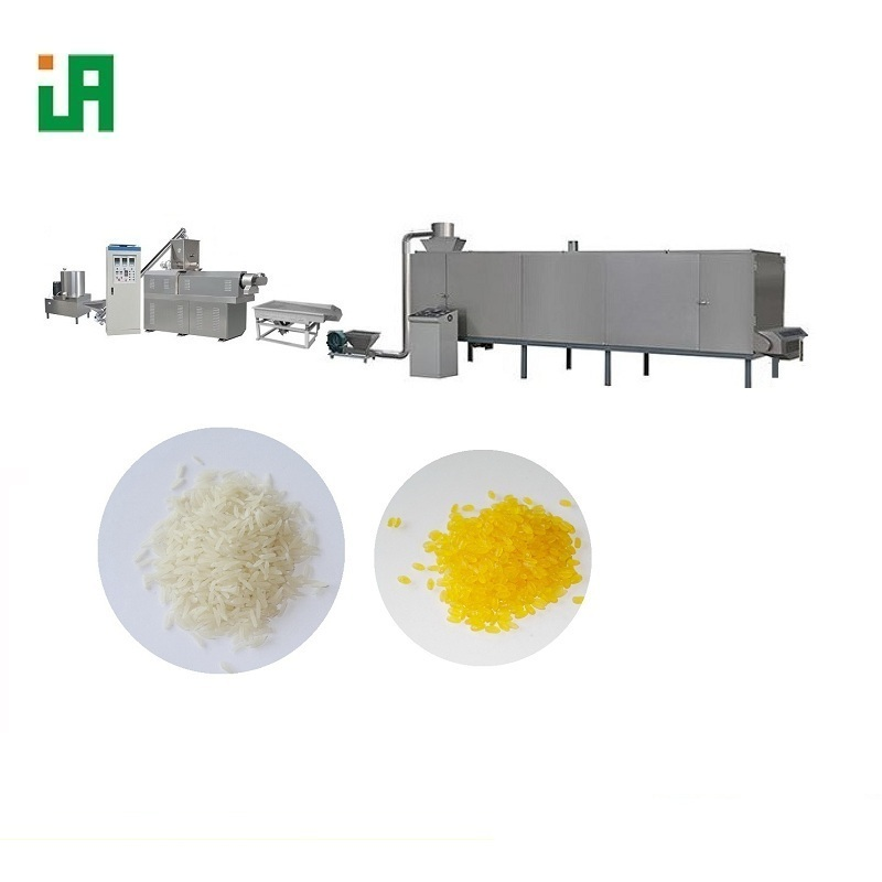 Twin-screw Instant Rice Pre-cooking Rice Extruder Machine
