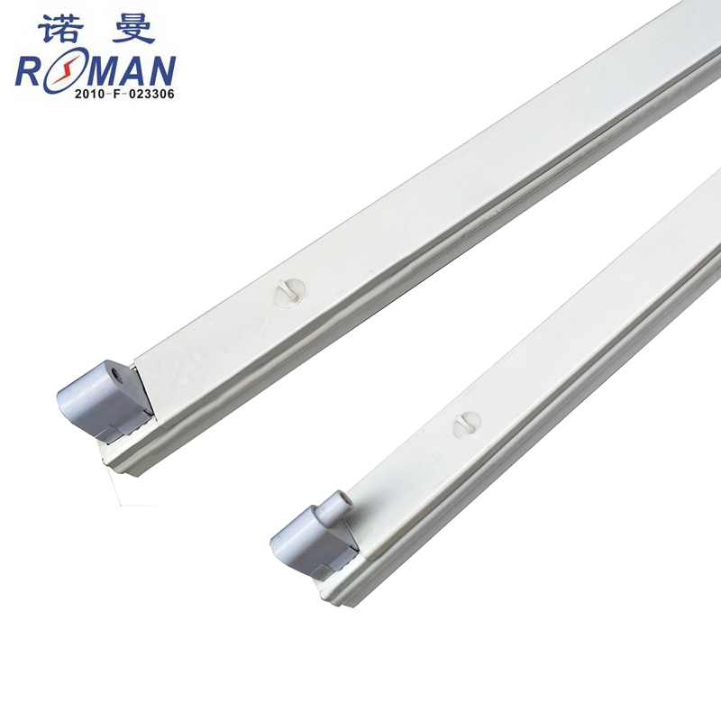 FA8 single needle lamp holder 2.4 m T8 lamp bracket LED single tube bracket LED fluorescent lamp bracket