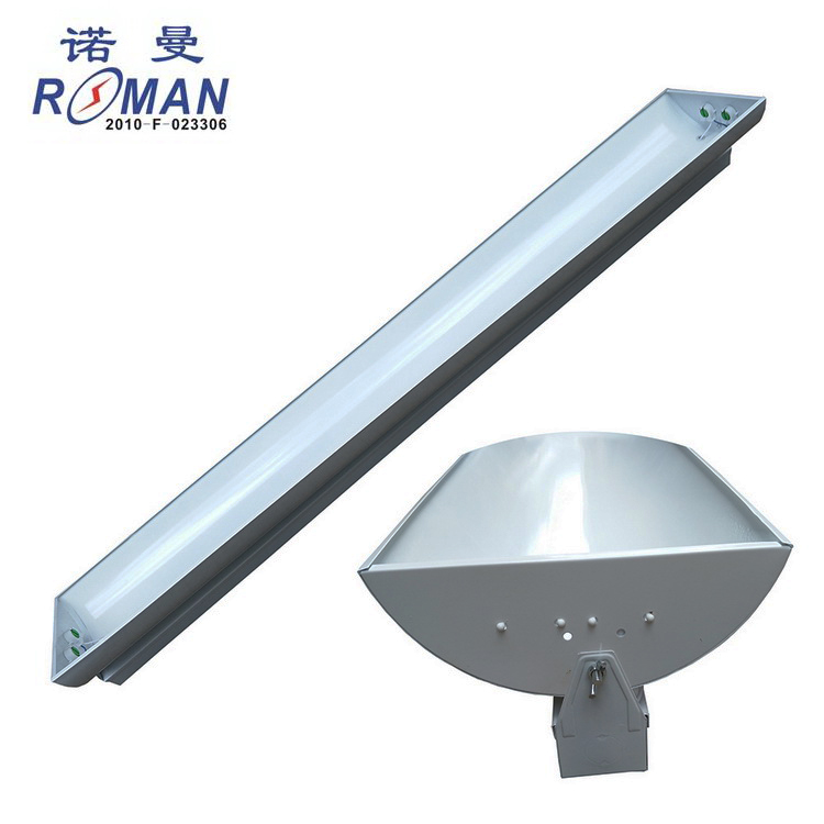 Adjustable angle 1.2 m T8LED classroom blackboard light LED blackboard light bracket rotating LED double tube bracket