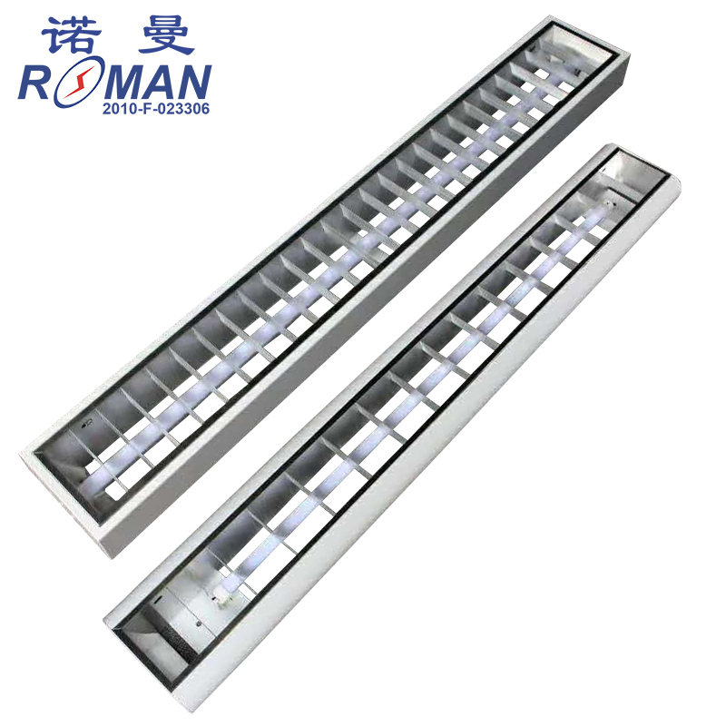 LED classroom lamp bracket conference room classroom dedicated T8LED lamp tube bracket hoisting grille lamp bracket