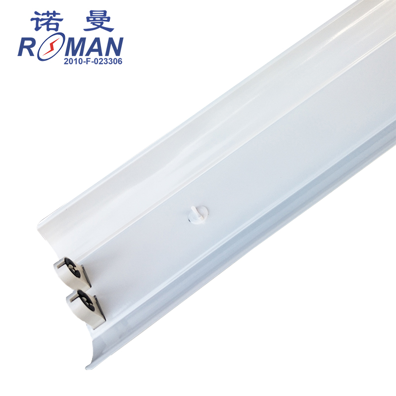 1.2 m T5LED double tube with cover bracket T8LED tube bracket LED fluorescent lamp bracket warranty for three years