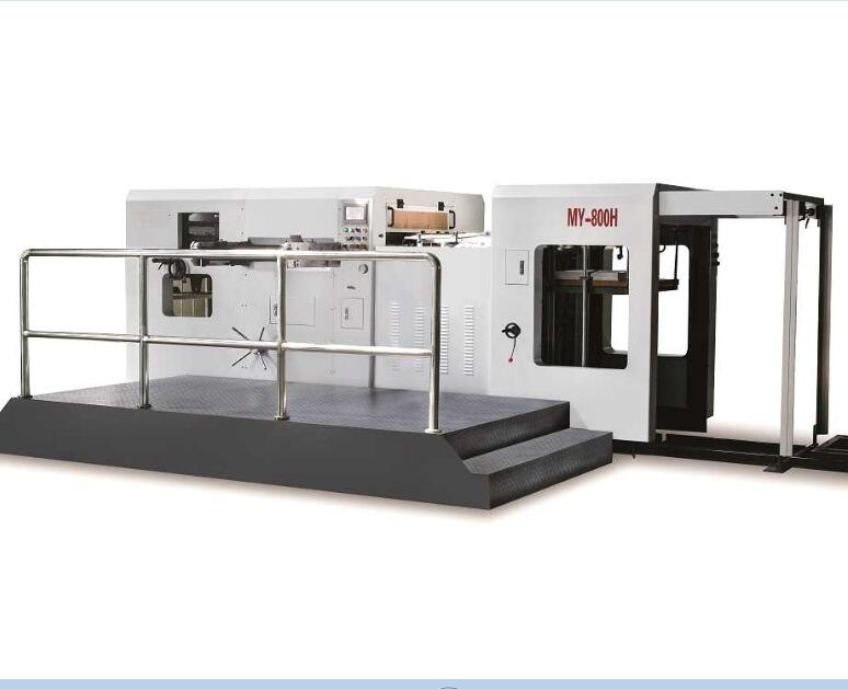 Flat bed automatic die cutting machine