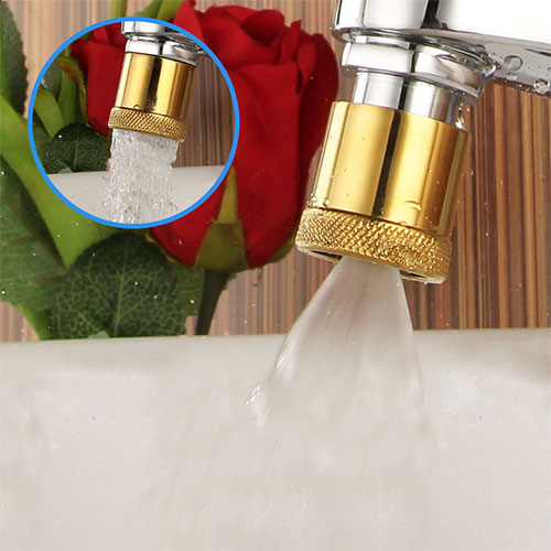 Water Saving Nozzle Dual Spray Aerator