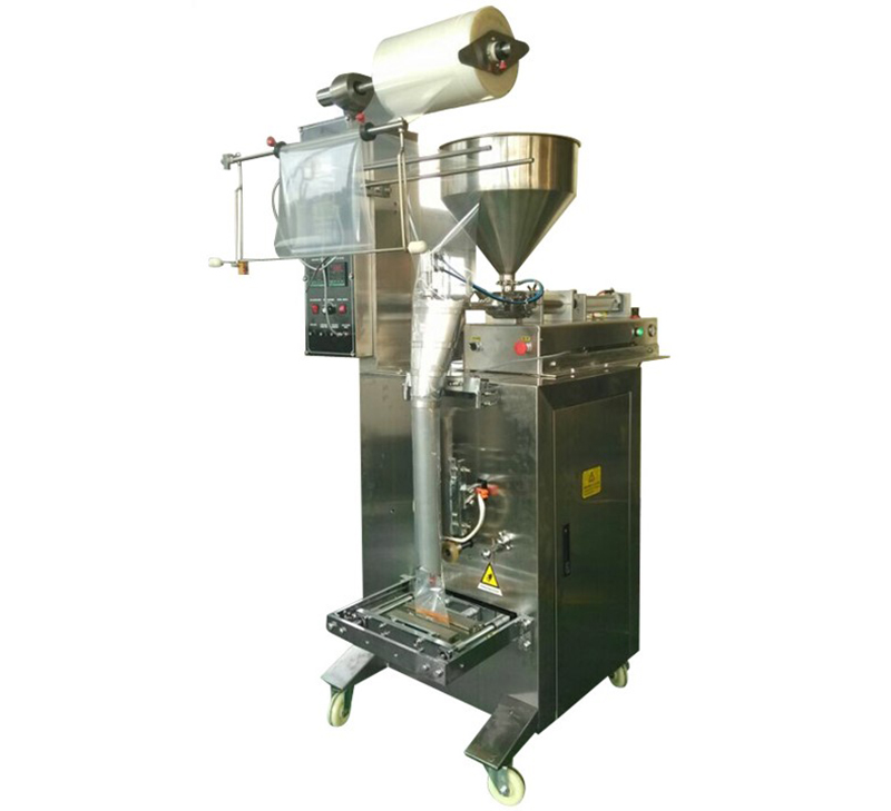 Max 1000ml paste packaging machinery