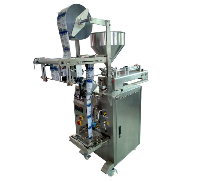stick bag, 3 sides sealing, 4 sides sealing paste packing machine for honey,jam,gel.