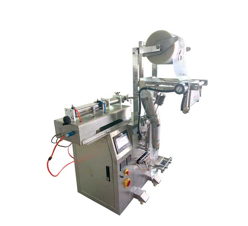 4 sides sealing oil packing machine for water,juice.