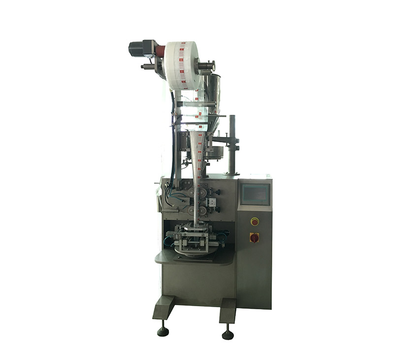 Pyramid or flat bag packaging machine for coffee and tea