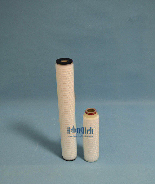 Hydrophilic PTFE Membrane Pleated Filters
