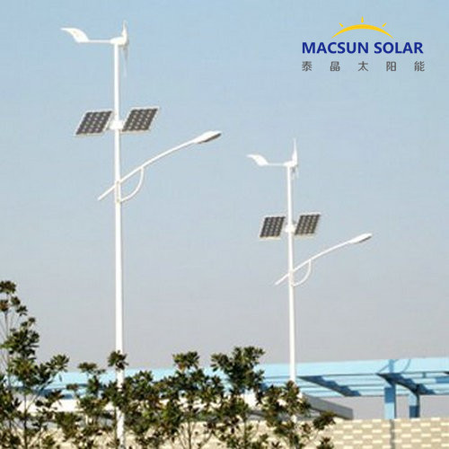 Solar Hybrid LED Street Light System, Solar Power Street Lights